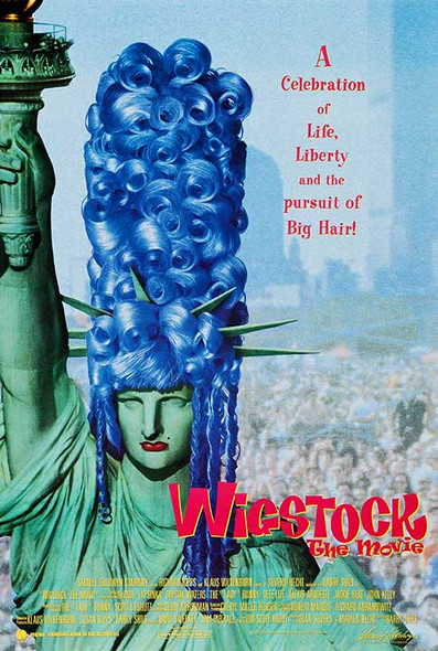 WIGSTOCK the movie ORIGINAL CINEMA POSTER