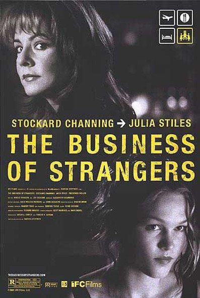 THE BUSINESS OF STRANGERS (SINGLE SIDED) ORIGINAL CINEMA POSTER