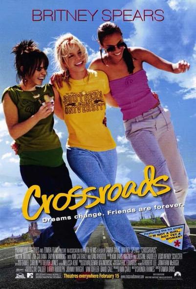 CROSSROADS ORIGINAL CINEMA POSTER