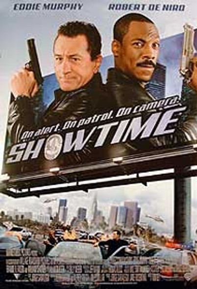 SHOWTIME (Double Sided) ORIGINAL CINEMA POSTER