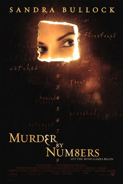 MURDER BY NUMBERS (Double-sided) ORIGINAL CINEMA POSTER