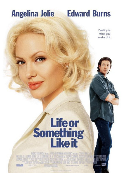 LIFE OR SOMETHING LIKE IT (Double Sided) ORIGINAL CINEMA POSTER