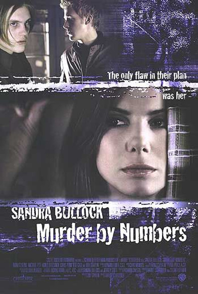MURDER BY NUMBERS (Regular) (DOUBLE SIDED) ORIGINAL CINEMA POSTER