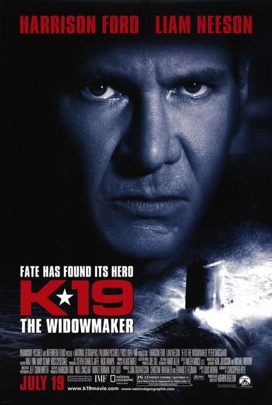 K-19: THE WIDOWMAKER (Double-sided Regular) ORIGINAL CINEMA POSTER