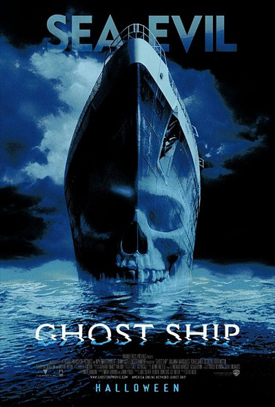 GHOST SHIP (Double-sided Regular) ORIGINAL CINEMA POSTER