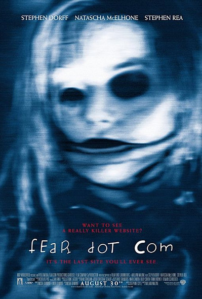 FEAR DOT COM (Double-sided Regular) ORIGINAL CINEMA POSTER