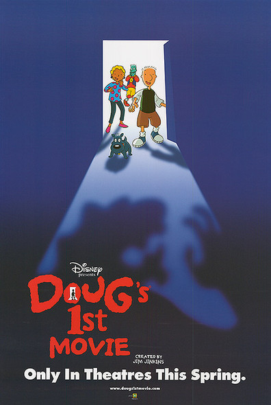 DOUG'S FIRST MOVIE (Double Sided Advance) ORIGINAL CINEMA POSTER