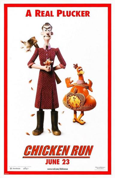 CHICKEN RUN (DOUBLE SIDED) ORIGINAL CINEMA POSTER
