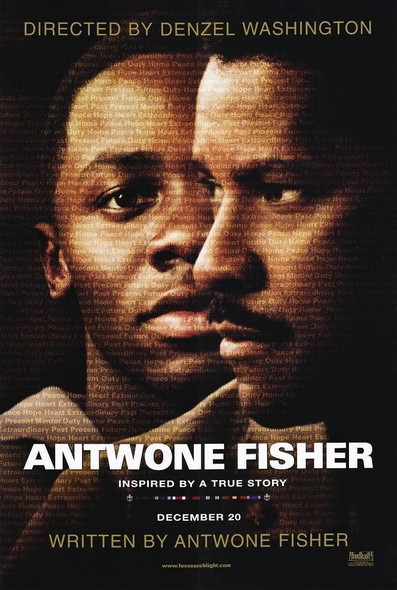 THE ANTWONE FISHER STORY (Double Sided Advance) ORIGINAL CINEMA POSTER