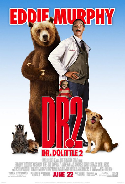 DR. DOLITTLE 2 (Double Sided Regular) ORIGINAL CINEMA POSTER