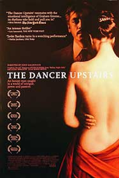 THE DANCER UPSTAIRS (Double Sided Regular) ORIGINAL CINEMA POSTER
