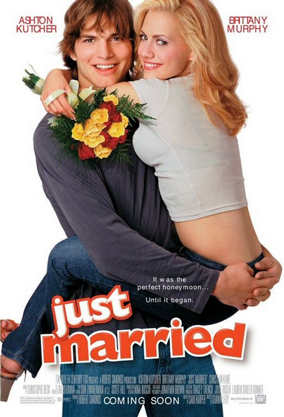 JUST MARRIED (Double Sided Regular) ORIGINAL CINEMA POSTER