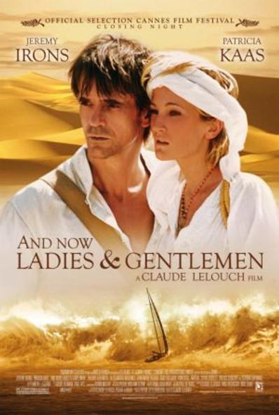 AND NOW....LADIES AND GENTLEMEN (Single Sided Regular) ORIGINAL CINEMA POSTER