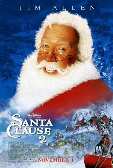 SANTA CLAUSE 2 (Double Sided Regular) ORIGINAL CINEMA POSTER