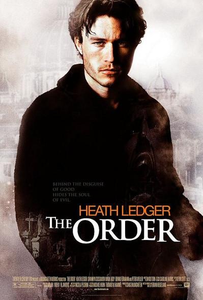THE ORDER/THE SIN EATER (Single Sided Regular) ORIGINAL CINEMA POSTER