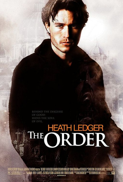 THE ORDER/THE SIN EATER (Double Sided Regular) ORIGINAL CINEMA POSTER