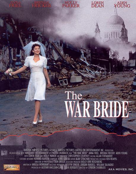 THE WAR BRIDE ORIGINAL CINEMA POSTER