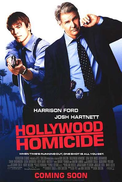 HOLLYWOOD HOMICIDE (Double Sided Regular) ORIGINAL CINEMA POSTER