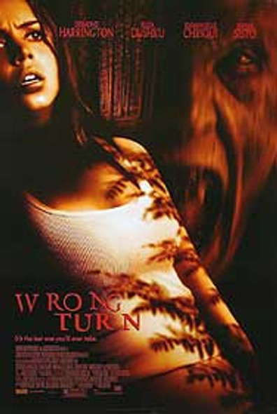 WRONG TURN (Double Sided Regular) ORIGINAL CINEMA POSTER