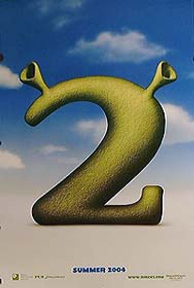 SHREK 2 (Double Sided Advance) ORIGINAL CINEMA POSTER