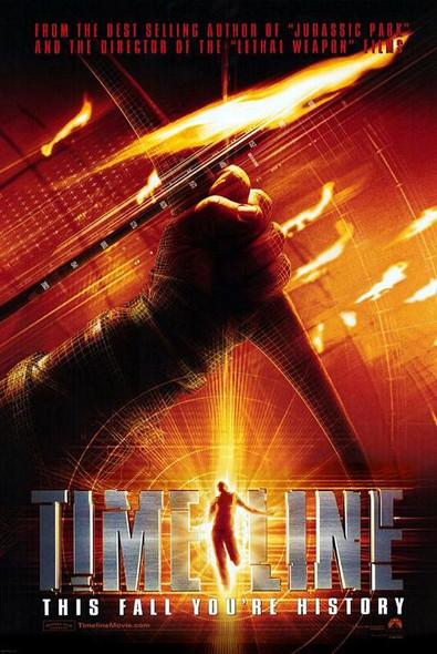 TIMELINE (Double Sided Advance) ORIGINAL CINEMA POSTER