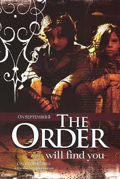THE ORDER/THE SIN EATER (Single Sided Advance Children) ORIGINAL CINEMA POSTER