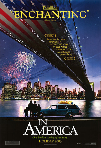 IN AMERICA (Double Sided Advance) ORIGINAL CINEMA POSTER