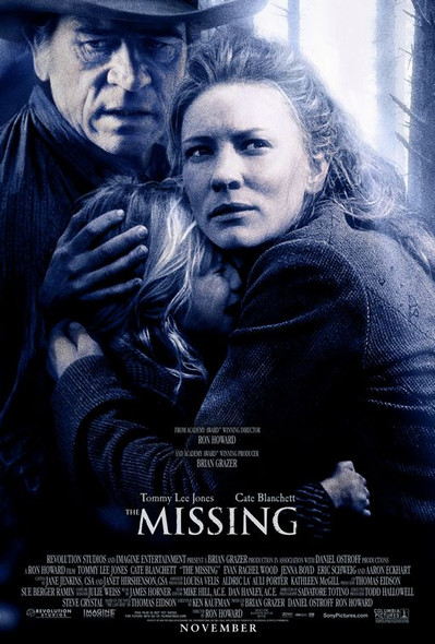 THE MISSING (Double Sided Regular) ORIGINAL CINEMA POSTER