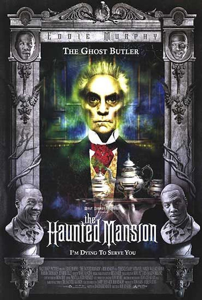 THE HAUNTED MANSION (Double Sided Regular Ghost Butler) ORIGINAL CINEMA POSTER