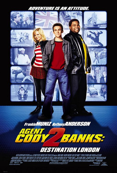 AGENT CODY BANKS 2: DESTINATION LONDON (Double Sided Regular) ORIGINAL CINEMA POSTER