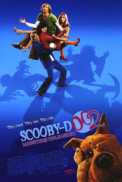 SCOOBY DOO 2: MONSTERS UNLEASHED (Double Sided Regular) ORIGINAL CINEMA POSTER