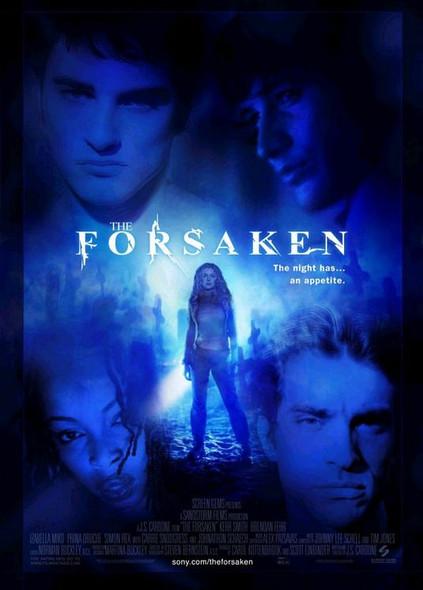 THE FORESAKEN (Double Sided Regular) ORIGINAL CINEMA POSTER