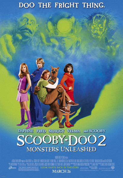 SCOOBY DOO 2 (Double Sided Regular) ORIGINAL CINEMA POSTER