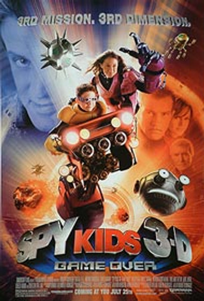 SPY KIDS 3D (Single Sided Regular) ORIGINAL CINEMA POSTER