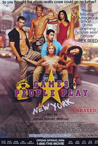 GAMES PEOPLE PLAY (Single Sided Regular) ORIGINAL CINEMA POSTER