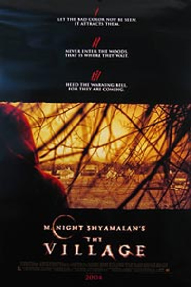 THE VILLAGE (Double Sided International) ORIGINAL CINEMA POSTER
