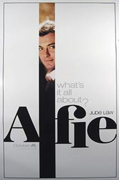 ALFIE (Double Sided Advance) ORIGINAL CINEMA POSTER