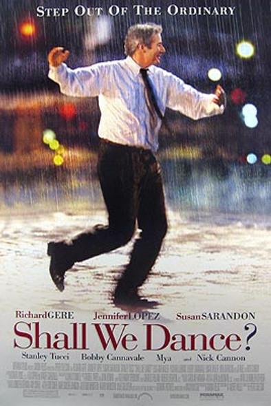 SHALL WE DANCE (Double Sided Regular) ORIGINAL CINEMA POSTER