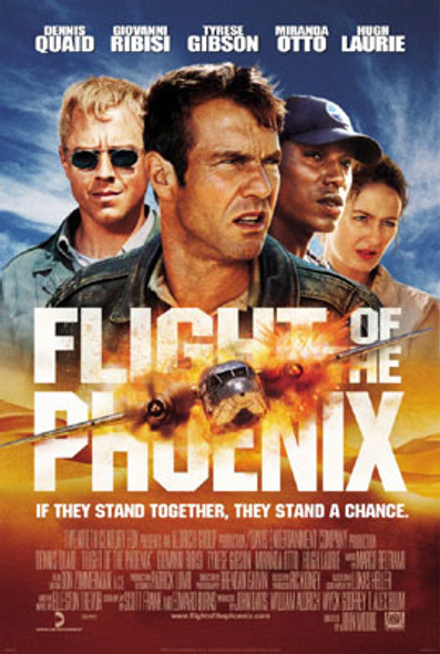 FLIGHT OF THE PHOENIX (Double Sided Regular) ORIGINAL CINEMA POSTER