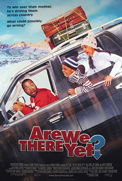 ARE WE THERE YET? (Double Sided International) ORIGINAL CINEMA POSTER