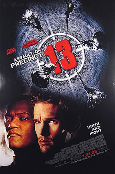 ASSAULT ON PRECINCT 13 (Double Sided Regular) ORIGINAL CINEMA POSTER