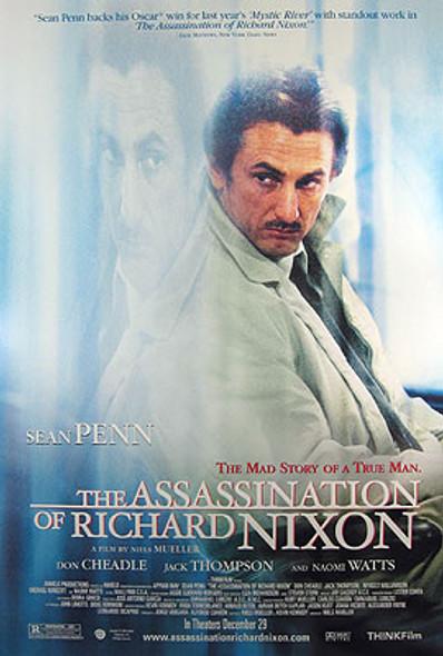 THE ASSASSINATION OF RICHARD NIXON (Single Sided Regular) ORIGINAL CINEMA POSTER