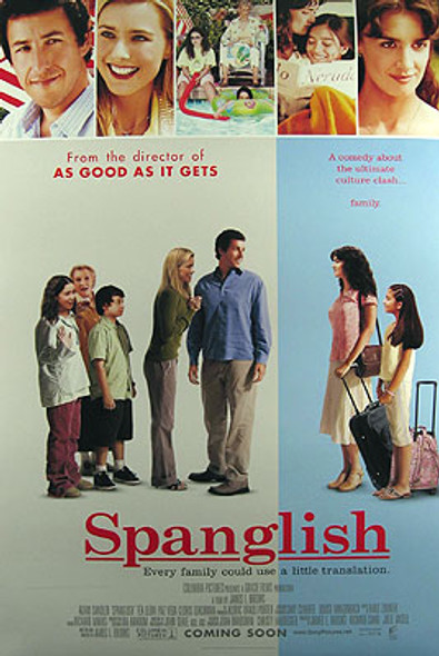SPANGLISH (Double Sided International) ORIGINAL CINEMA POSTER