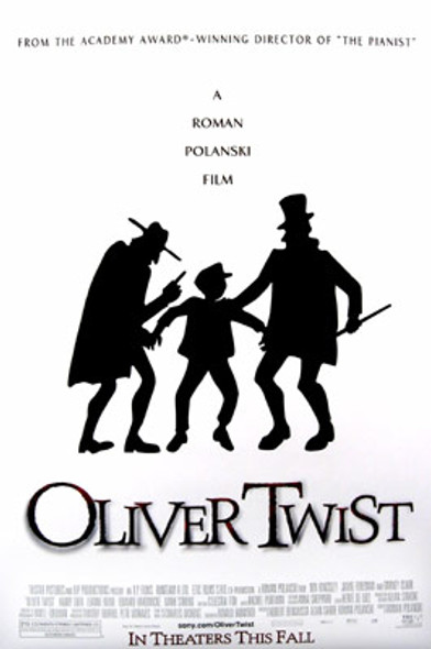 OLIVER TWIST (Double Sided Regular) ORIGINAL CINEMA POSTER