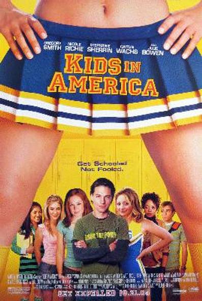 KIDS IN AMERICA (Single Sided Regular) ORIGINAL CINEMA POSTER