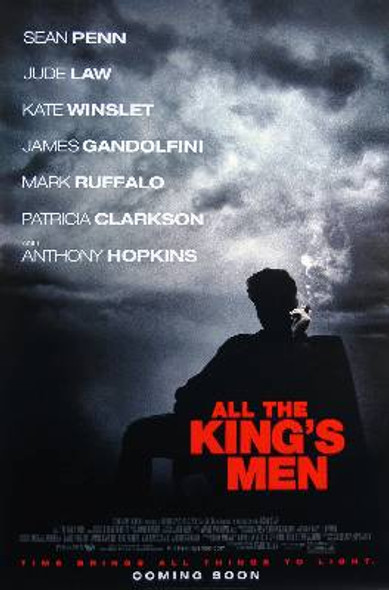 ALL THE KING'S MEN (Single Sided Regular) ORIGINAL CINEMA POSTER