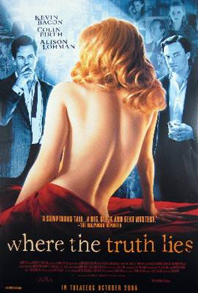 WHERE THE TRUTH LIES (Single Sided Regular) ORIGINAL CINEMA POSTER