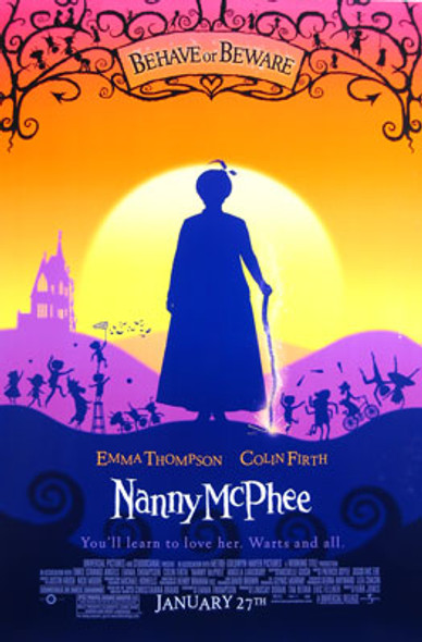 NANNY MCPHEE (Double-sided Regular) (UV COATED/HIGH GLOSS) ORIGINAL CINEMA POSTER