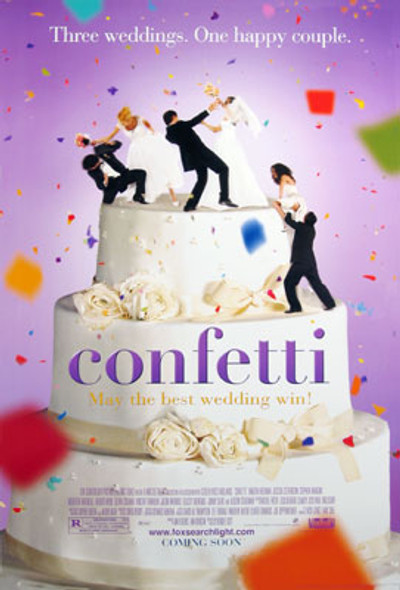 CONFETTI (Double-sided Regular) ORIGINAL CINEMA POSTER