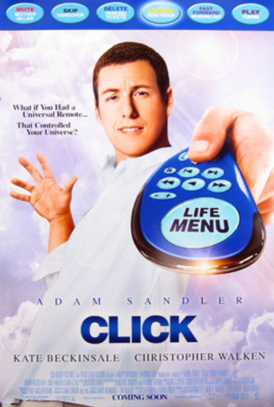 CLICK (Double Sided Regular) ORIGINAL CINEMA POSTER
